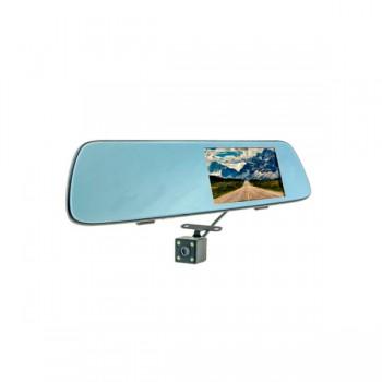 Автомобильный видеорегистратор зеркало Cyclone MR-53