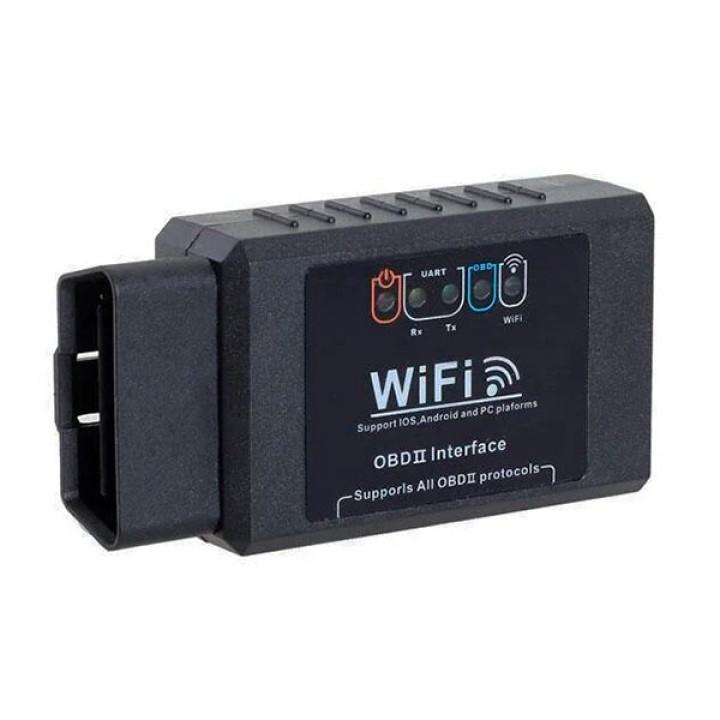 Автомобильный диагностический сканер ELM 327 v1.5 OBD2 WI-FI IOS Android