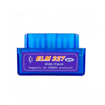 Диагностический сканер адаптер OBD2 II ELM327 mini v2.1 Bluetooth