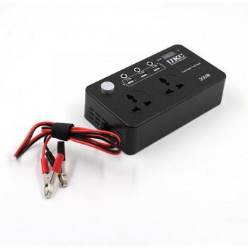 Преобразователь AC/DC 200W 12V/220V + USB