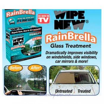 Жидкость для защиты стекла от воды и грязи Rain Brella