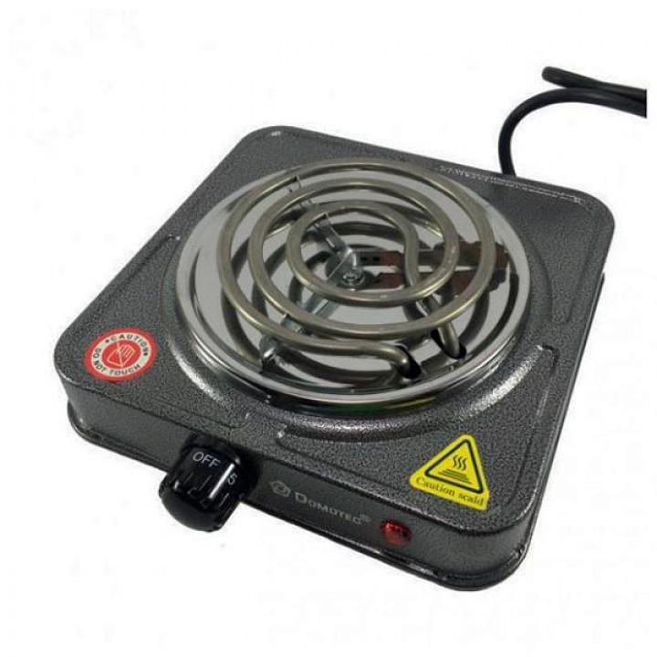 Плита настольная одноконфорочная Domotec MS 5801 электрическая 1000 Вт