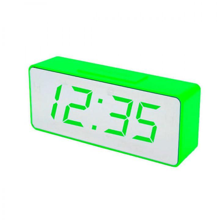 Настольные часы VST 886Y-4 зеленые