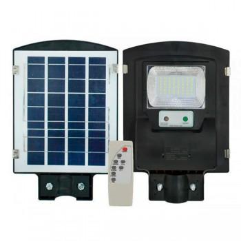 Фонарь уличный на столб на солнечной батарее с датчиком движения UKC 1VPP 45W + пульт