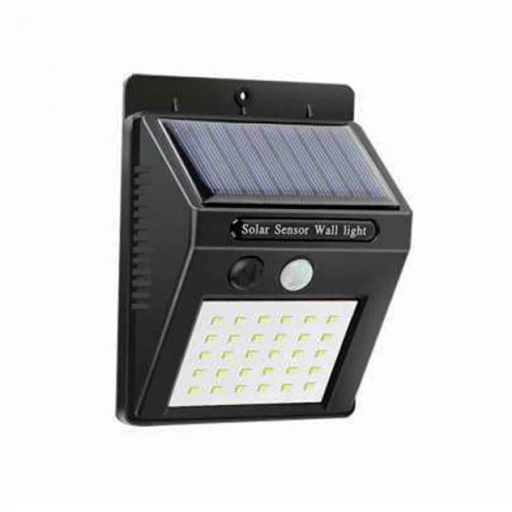 Светодиодный уличный фонарь Solar Motion Sensor Light 30smd с датчиком движения + солнечная панель