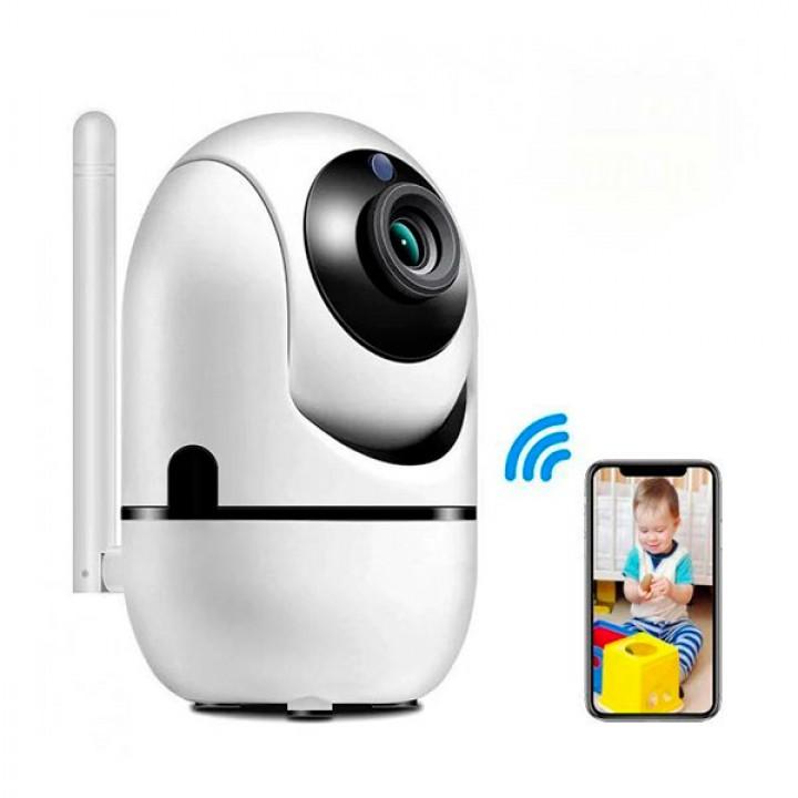 Беспроводная поворотная wifi камера MicroSD Y13G 1mp