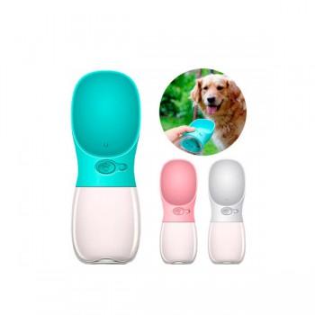 Портативная поилка для собак SUNROZ Dog Bottle 350 мл