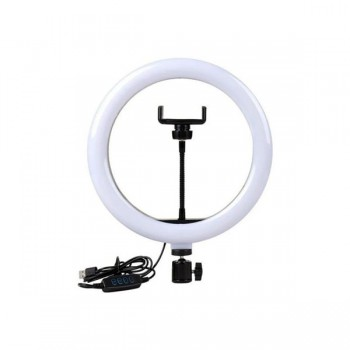 Кольцевая LED лампа с креплением LC-330 (33см) USB