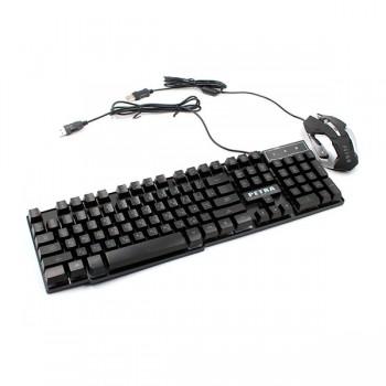 Набор клавиатура Gaming PETRA MK1 + мышка