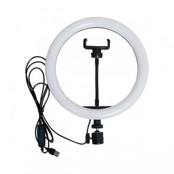 Кольцевая LED лампа для селфи 26 см без штатива, сельфи кольцо
