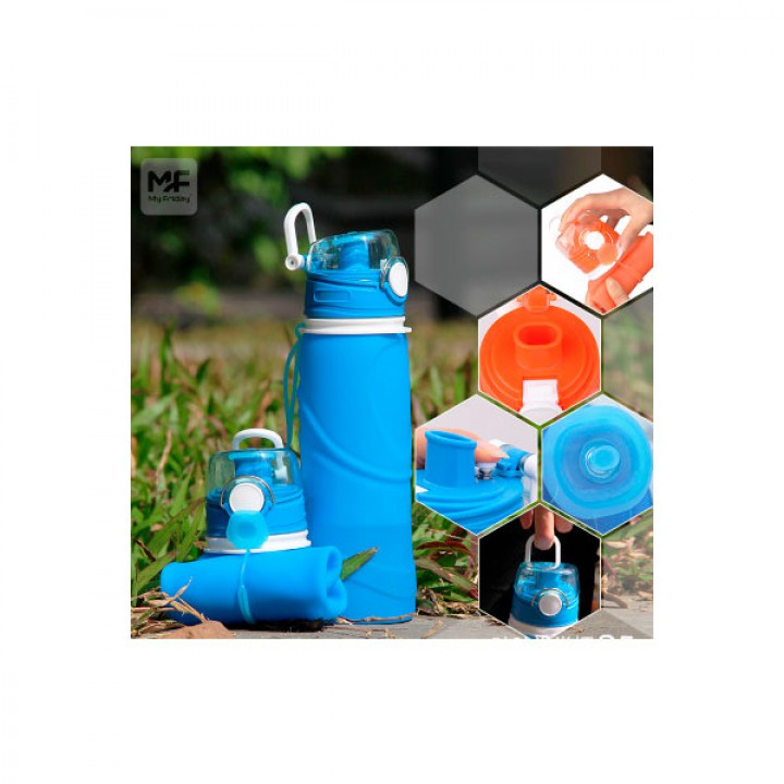 Складная спортивная бутылка для воды 750 мл