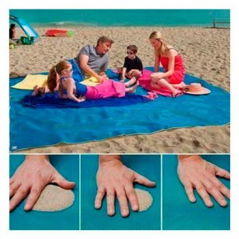 Пляжная подстилка для пляжа анти песок Originalsize Sand Free Mat 200*200