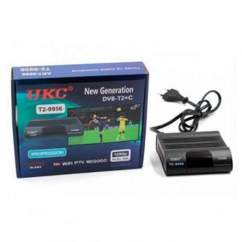 Т2 приемник для цифрового ТВ UKC 9956 с поддержкой wi-fi адаптера