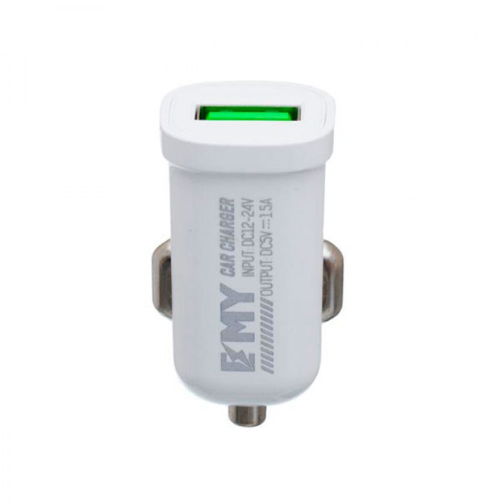 Автомобильное зарядное устройство EMY MY-10