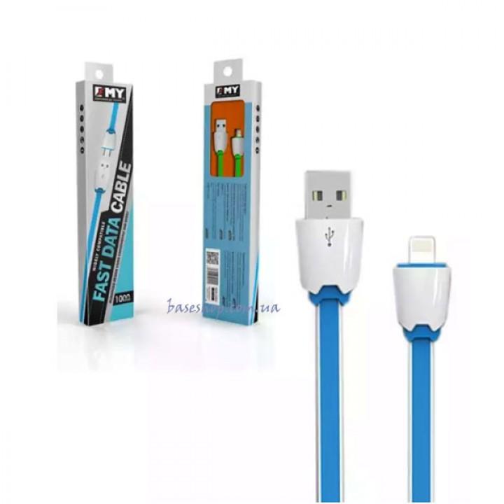 Кабель для зарядки телефона Micro USB Emy-441